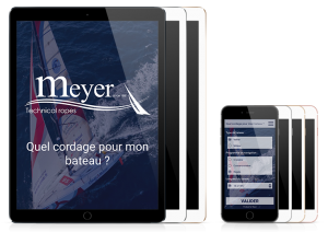 Application mobile My Rope sur Ipad et Iphone