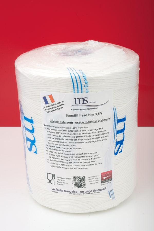 Saucifil Lisse blanc MS-114