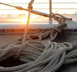 Bien préserver vos cordages de l'environnement marin : UV, humidité, salinité…