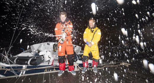 Aymeric Chappellier et Arthur Le Vaillant vainqueurs de la seconde étape de la régate Les-Sables-Horta