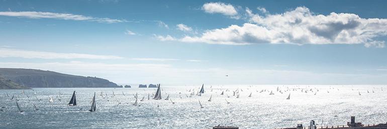 Rolex Fastnet Race, course mythique à laquelle se prépare Aymeric Chappellier