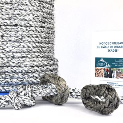Skadee : câble textile débardage forestier avec loop textiles