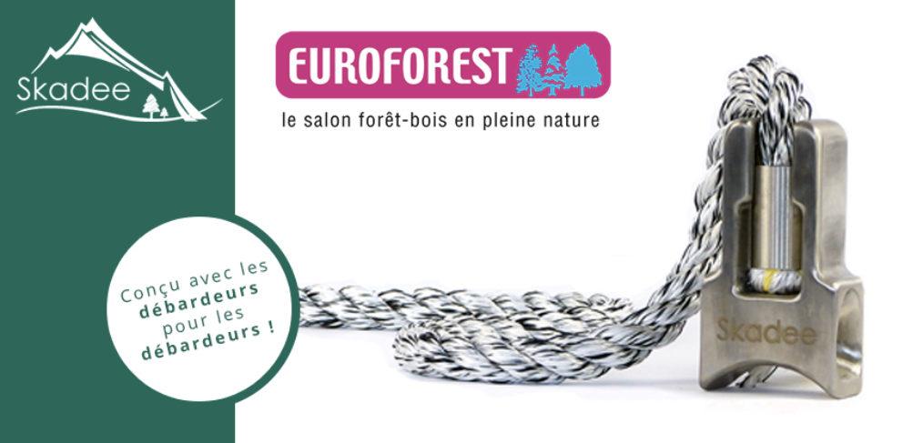 Découvrez la marque Skadee au premier salon forestier français : Euroforest 2018