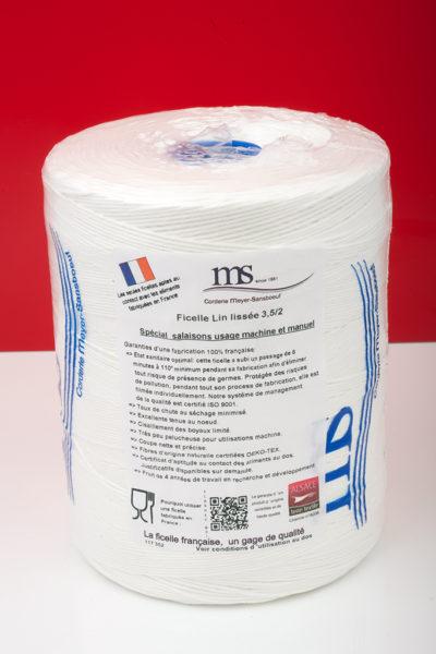 Lin Lisse blanc MS-117