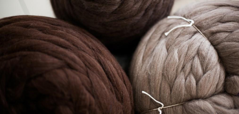 Ficelle technique pour le peignage de laine
