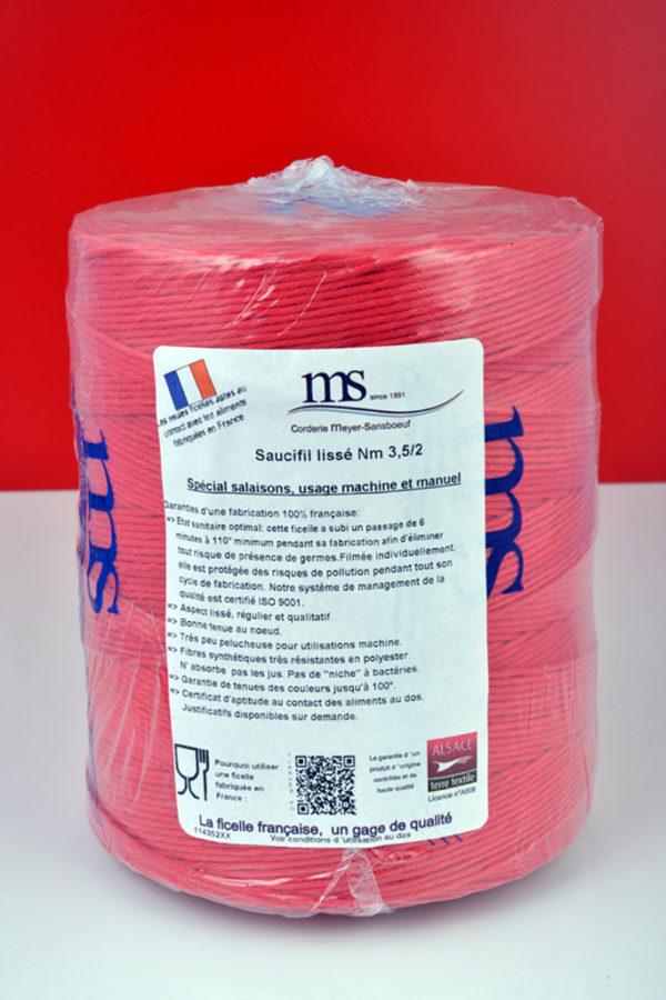 Saucifil Lissé rouge MS-114