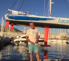 IMOCA TechnoFirst - FaceOcean de Sébastien DESTREMAU