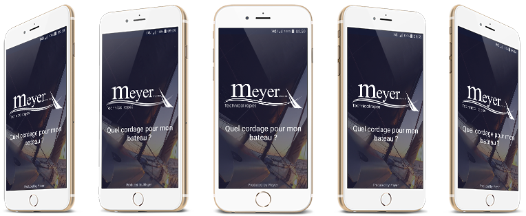 Application mobile My Rope, disponible gratuitement sur Android