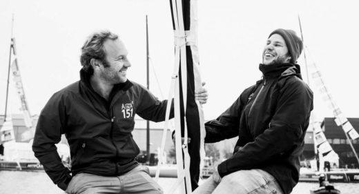 Aymeric Chappellier et Arthur Le Vaillant - Transat Jacques Vabre 2017