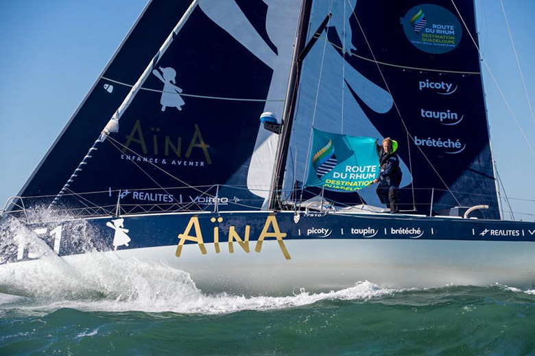 Aymeric Chappellier aina route rhum 2018