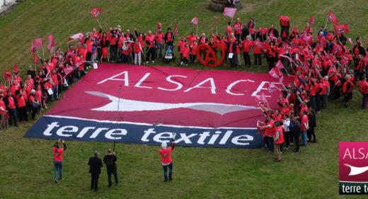 #TerreTextile : rencontre des entreprises labellisées Alsace terre textile