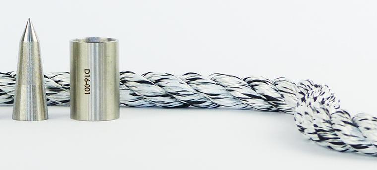 Skadee : un câble de débardage facilement réparable avec sa douille de blocage